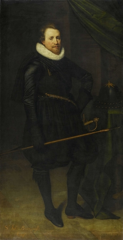 Portrait of Sir John Burroughs (1587-1627)