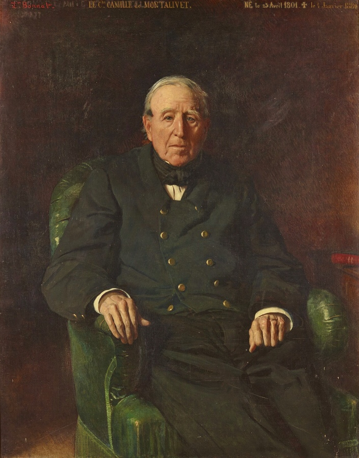 Portrait of the count of Montalivet