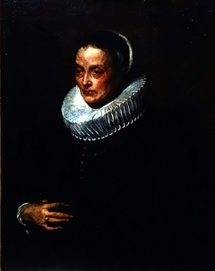 Portrait of the mother of the artist Justus Sustermans