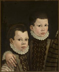 Portrait of two boys.