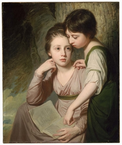 Portrait of Two Girls (Misses Cumberland)