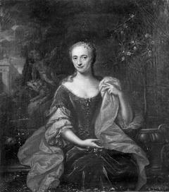 Portret van Aletta Lucretia Martens (1715-1782), echtgenote van Antonie Francois Godin