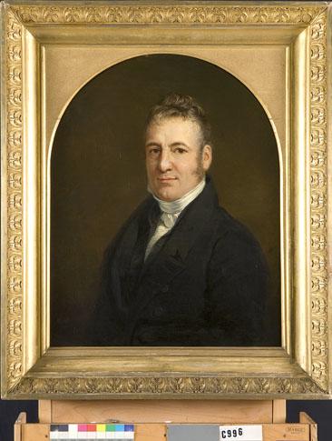 Portret van een man, mogelijk Reinier Otto Hendrik van Manen (1780-1855)