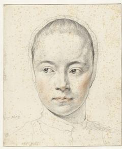 Portret van een onbekend meisje met een mutsje op