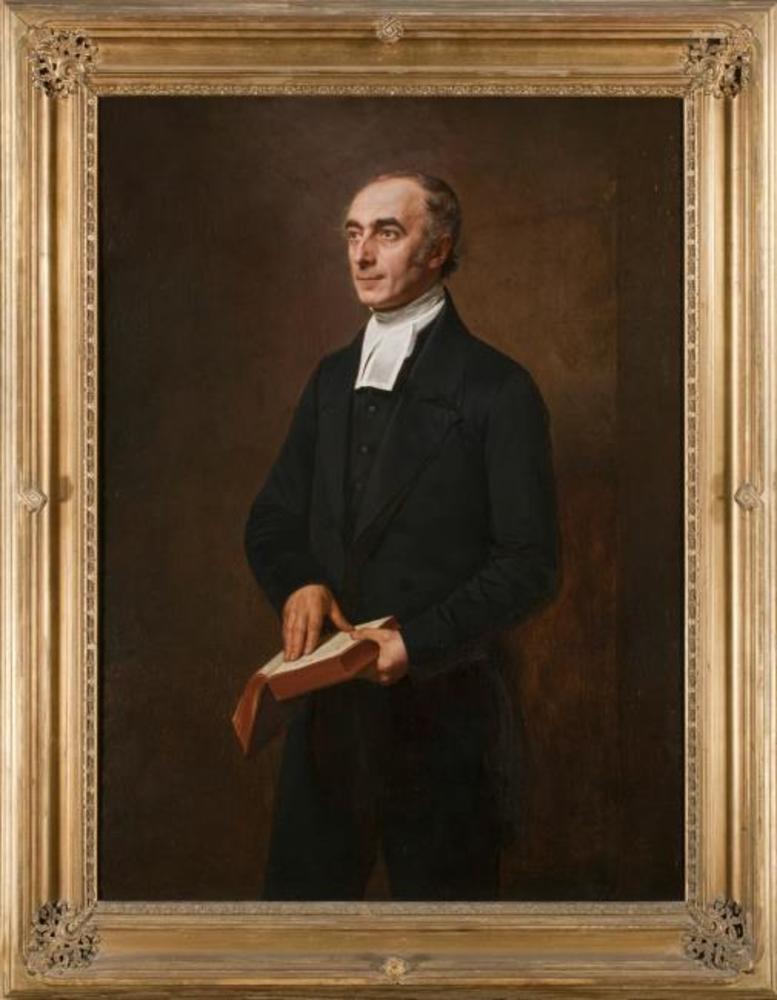Portret van Hermann Friedrich Kohlbrugge (1803-1875), theoloog