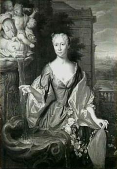 Portret van Maria Isabella Velters (1712-1766), echtgenote van Petrus Cunaeus
