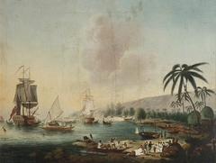 'Resolution' and 'Discovery' at Tahiti