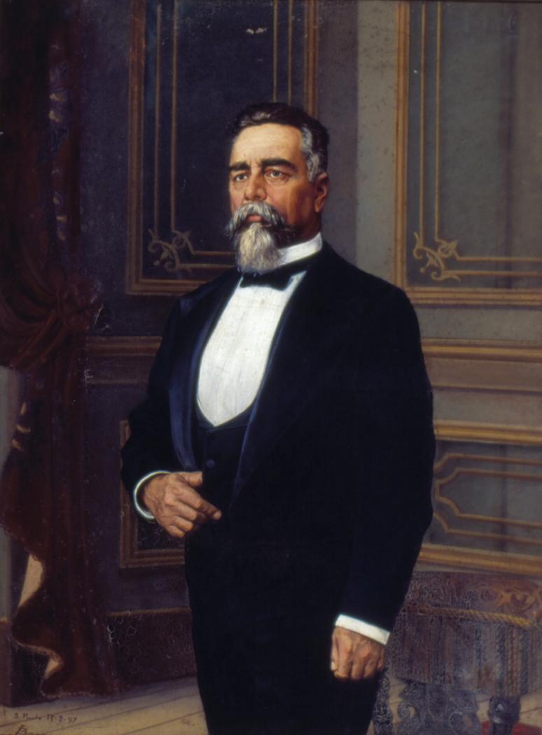 Retrato de Campos Sales