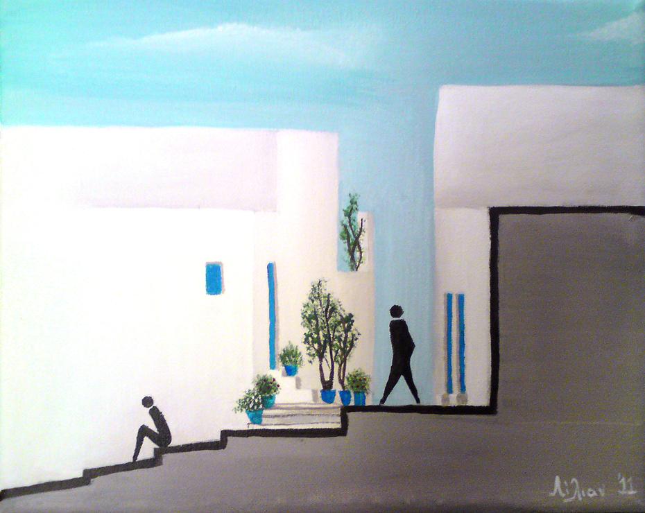 Road section 2 | Chora,Amorgos