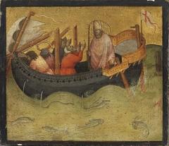 Saint Nicholas and the storm