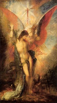Saint Sebastian and the Angel