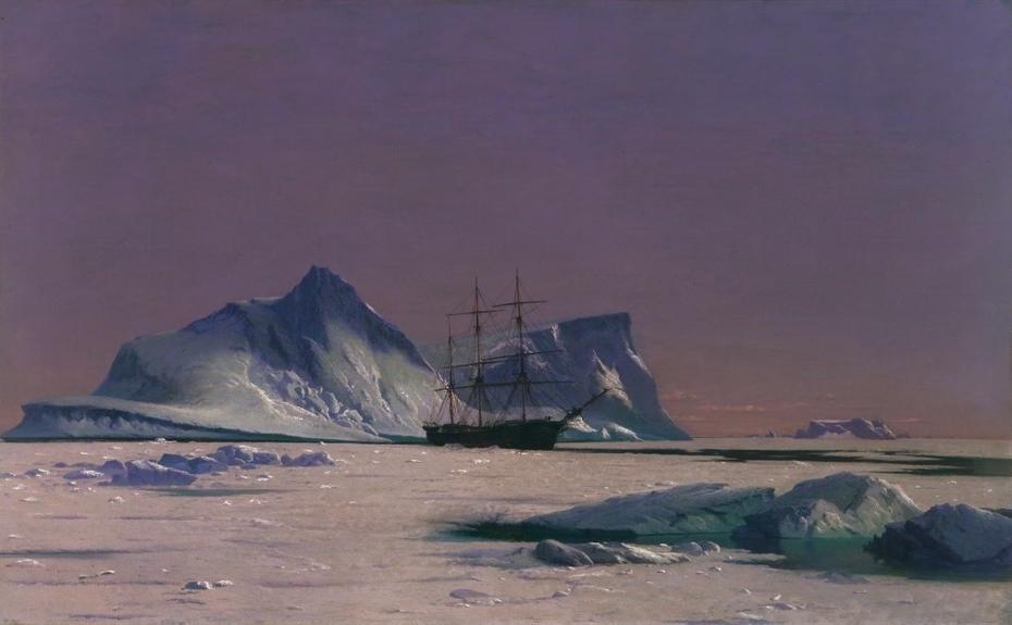 Scene in the Arctic