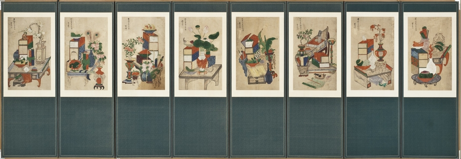 Scholar's Books and Objects (Chaekkeori)