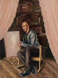 Selfportrait (In the Brown Room)