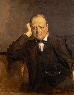 Sir Winston Churchill, 1874 - 1965. Statesman