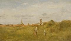 Sketch at Scheveningen