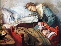 Sleeping Mother