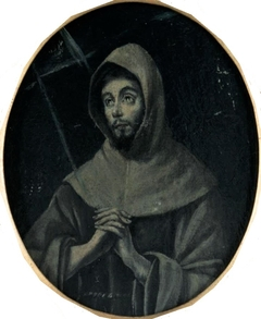 St. Francis in meditation