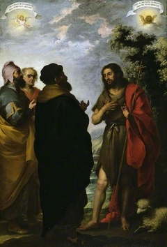 St. John the Baptist with the Scribes and Pharisees