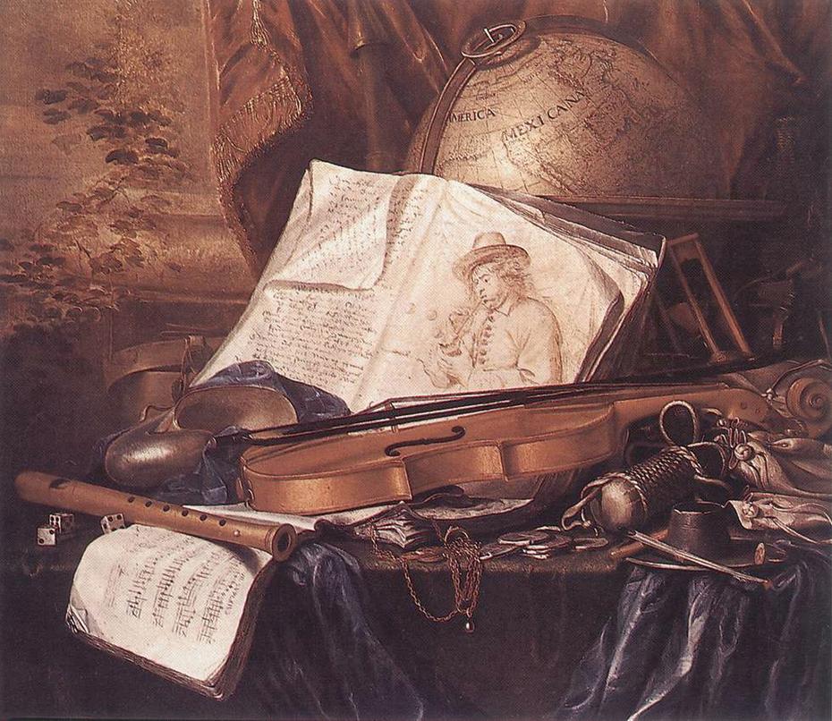 Still Life of Musical Instruments