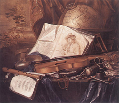 Still Life of Musical Instruments