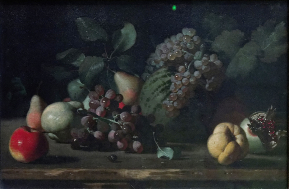 Still-Life with Grapes and Grenade