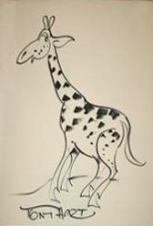 Study of a Giraffe