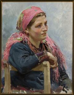 Study of a girl /Aniela Franczak/