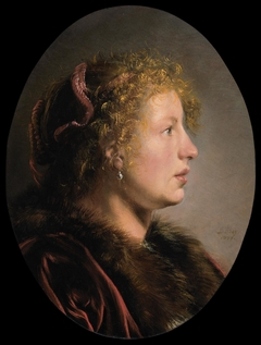 Study of a Young Woman in Profile