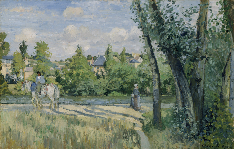 Sunlight on the Road, Pontoise