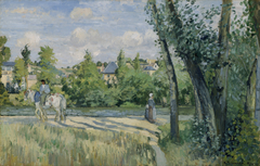Sunlight on the Road, Pontoise