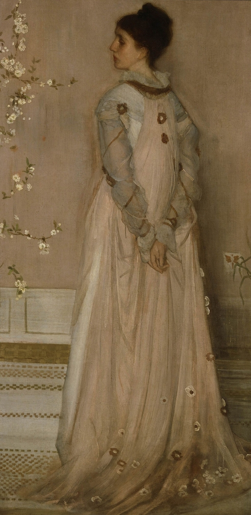 Symphony in Flesh Color and Pink: Portrait of Mrs. Frances Leyland