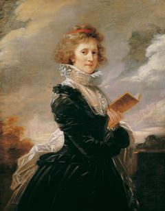 The actress Josefa Hortensia Füger, the wife of the artist
