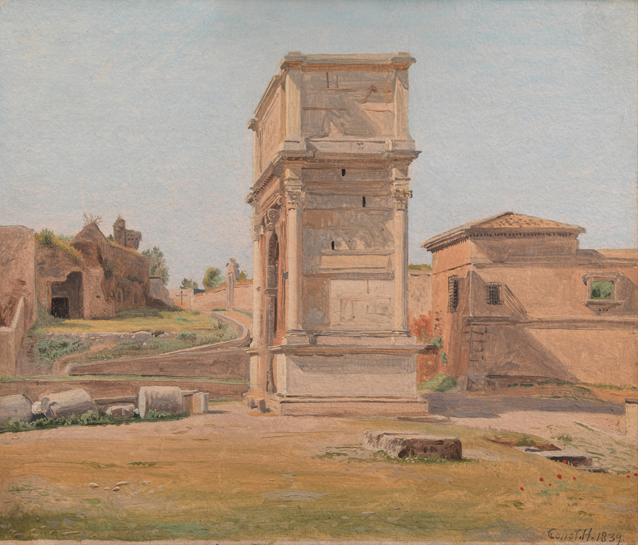 The Arch of Titus in Rome
