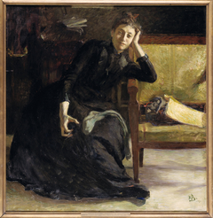 The artist Eva Bonnier