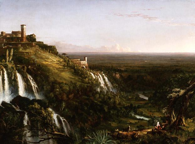 The Cascatelli, Tivoli, Looking Towards Rome
