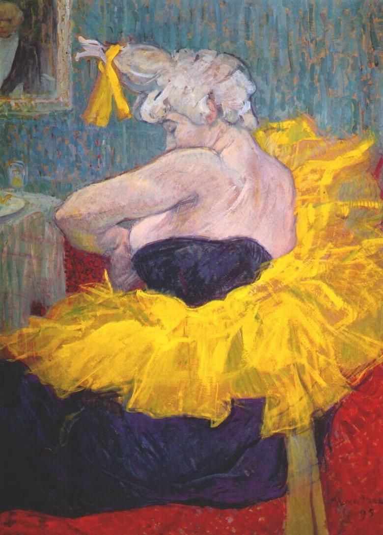 The clownesse cha-u-kao at the Moulin Rouge (La Clownesse Cha-U-Kao)
