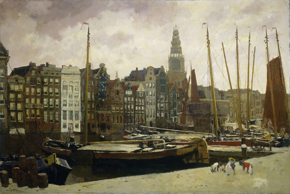 The Damrak, Amsterdam