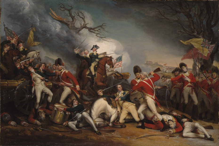The Death of General Mercer at the Battle of Princeton, January 3, 1777