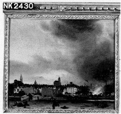 The Explosion of the Gunpowder Store in Delft, 12 October 1654