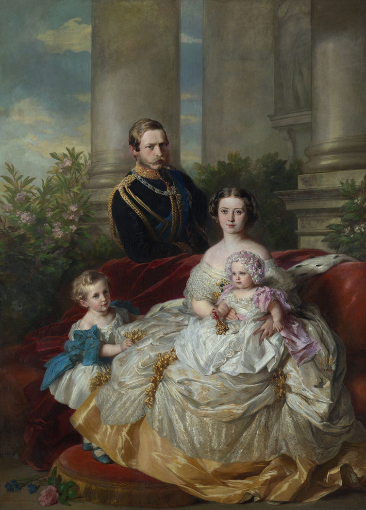 The Family of Crown Prince and Crown Princess Frederick William of Prussia