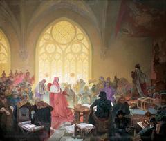 The Hussite King Jiří of Poděbrady