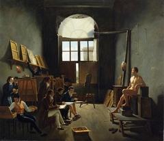The Interior of David's Studio at the Collège des Quatre-Nations, Paris