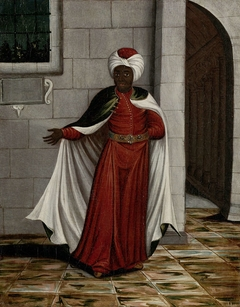 The Kislar Aghassi, Chief of the Black Eunuchs of the Sultan