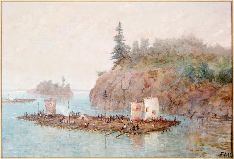 The Lumber Raft