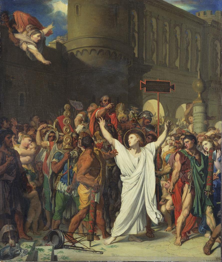 The Martyrdom of Saint Symphorien