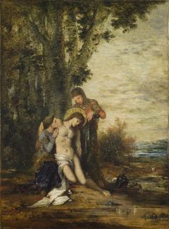 The Martyred Saint Sebastian