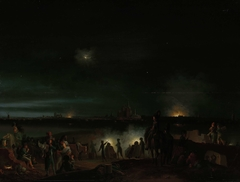 The Shelling of 's-Hertogenbosch by the French