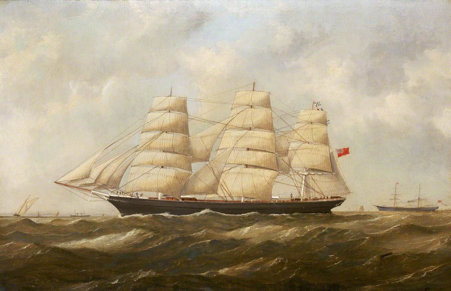 The ship 'Hallowe'en'