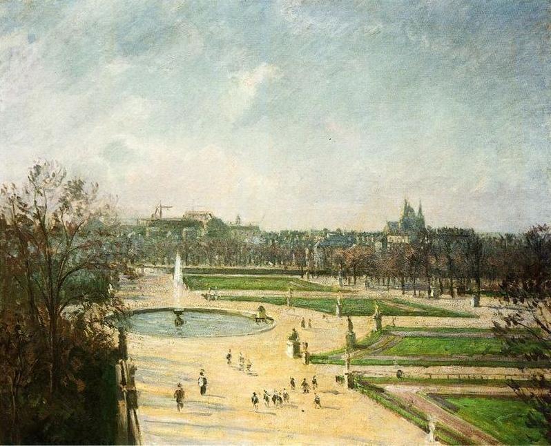 The Tuileries Garden, Morning, Sunshine
